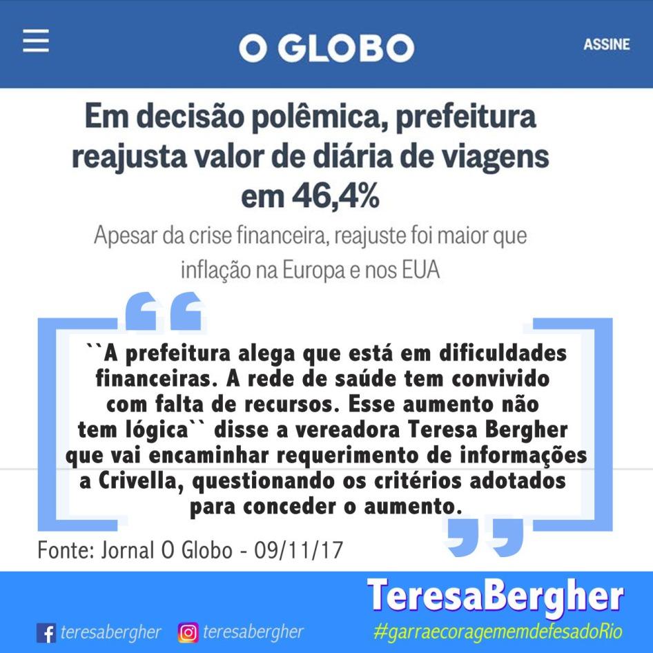 09/11/17 - O Globo