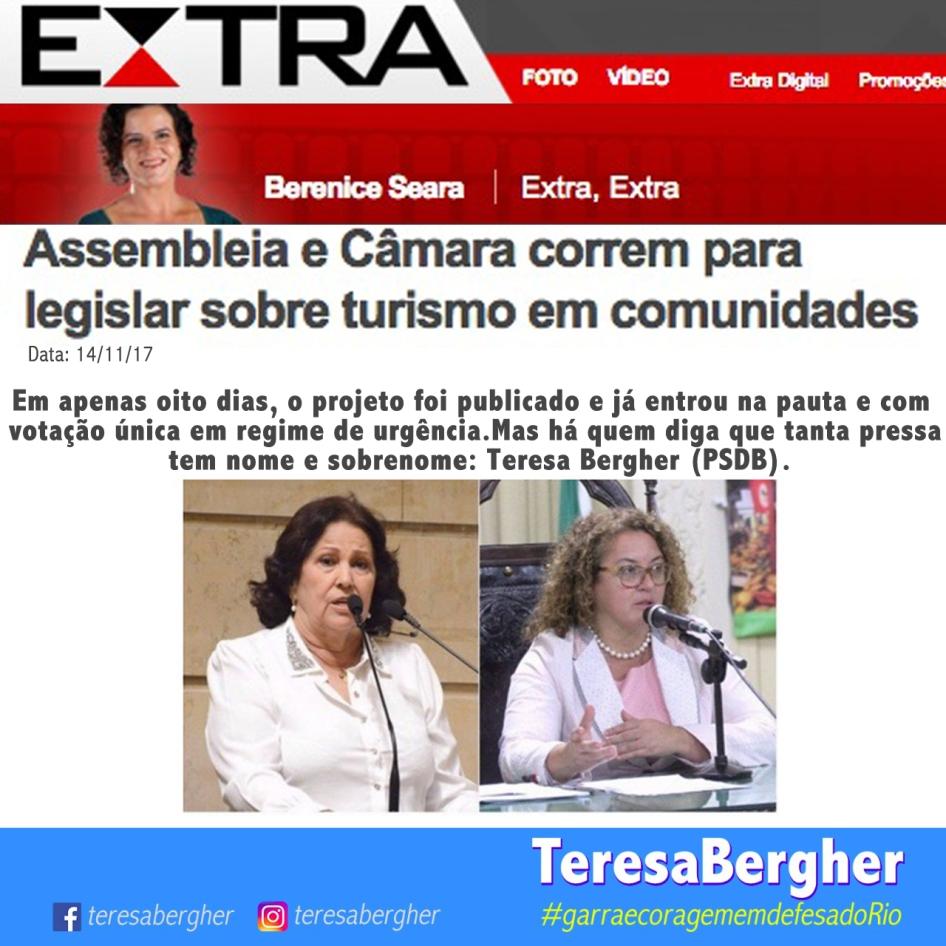 14/11/17 - EXTRA_Berenice Seara