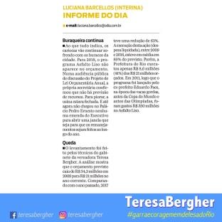 17/12/17 - O DIA_Informe