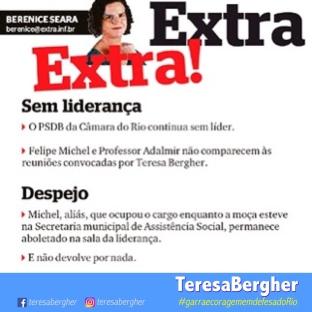 18/12/2017 - EXTRA_Berenice Seara