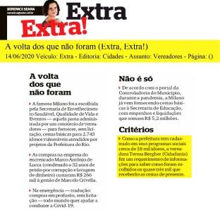 14/06/2020 (EXTRA-EXTRA)